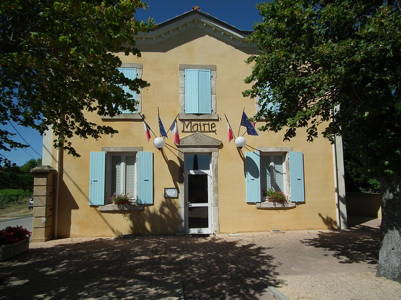 Town hall of Veaunes - Drôme - France