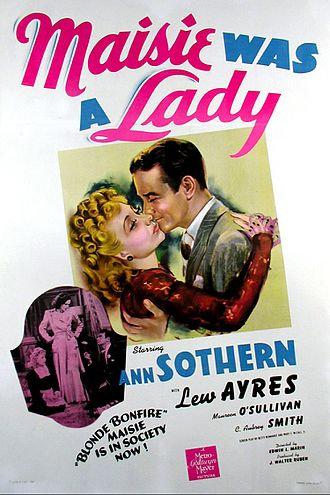 Maisie Was a Lady - Theatrical Film Poster