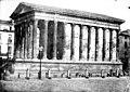 Maison Carrée - Ensemble sud-ouest - Nîmes - Médiathèque de l'architecture et du patrimoine - APMH00007469B.jpg