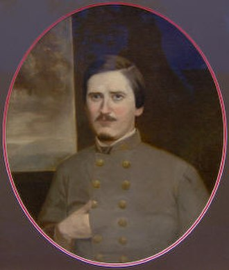 Rice E. Graves - Major Graves portrait, 1862
