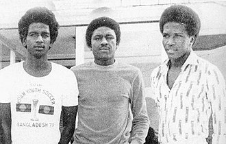 Majed Abdullah - From the Left Majed Abdullah, Tawfiq Al-Muqrin and Abdullah Abed Rabbo in Iraq 1978.