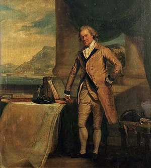 Sir William Green, 1st Baronet - William Green, Chief Engineer of Gibraltar; by George Carter