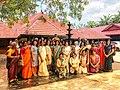 Malayalees in Sri Mangala Chamundi Temple.jpg