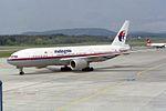 Malaysia Airlines Boeing 777-2H6-ER 9M-MRD (26505608984).jpg