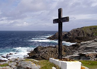Malin Head - Looking out into the North Atlantic from Malin Head