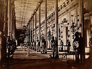 Palace Armoury - Palace Armoury in the 1880s