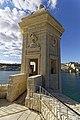 Malta - Senglea - Gardjola Gardens - La Guardiola Safe Haven Gardens - Echaugette (reconstructed) 09.jpg