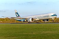 B-KQB - B77W - Cathay Pacific