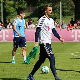 Manuel Neuer Training 2018-05-08 FC Bayern Muenchen-3