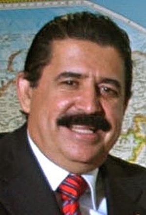 Honduran general election, 2005 - Image: Manuel Zelaya (Brasília, 03 April 2006)