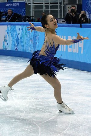 Japan at the 2014 Winter Olympics - Mao Asada