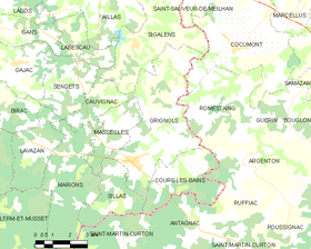 Map commune FR insee code 33195.png
