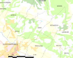 Map commune FR insee code 64245.png