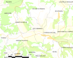 Map commune FR insee code 81045.png