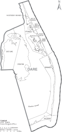 Dare County, North Carolina - Wikipedia, the free encyclopedia