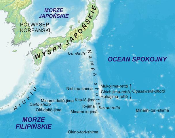 Bonin Islands Google Map