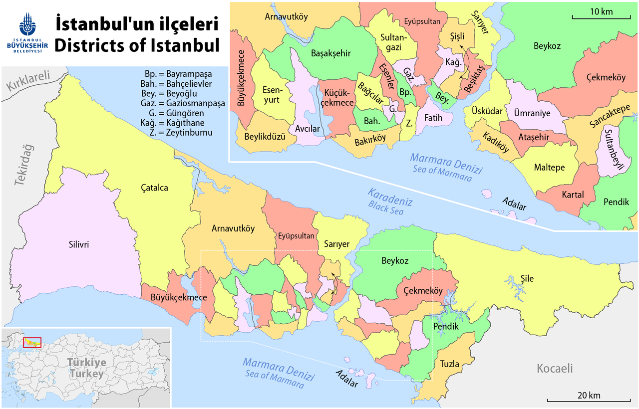 Datei:Map of the Districts of Istanbul.png – Wikipedia