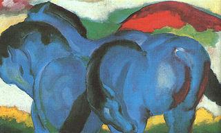The Little Blue Horses