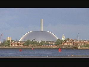 Marchwood - Marchwood incinerator dome