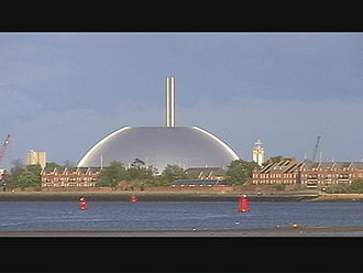 Marchwood - Marchwood incinerator dome