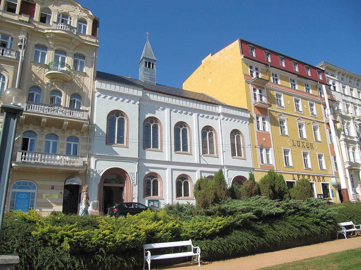 Evangelický kostel (Mariánské Lázně) – Wikipedie