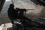 Marines fire machine guns from Super Stallions 150115-M-EB647-462.jpg