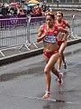 Marisol Romero and Karina Pérez 2 - 2012 Olympic Womens Marathon.jpg