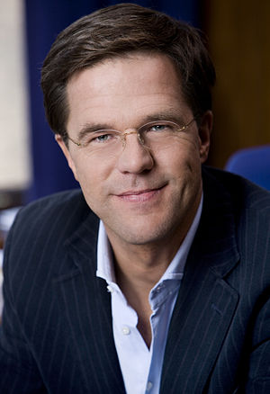 Dutch general election, 2017 - Mark Rutte