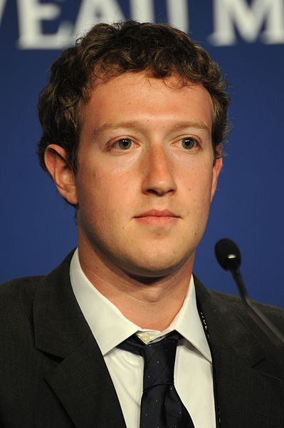 Mark Zuckerberg - Mai 2011 in Deauville - Guillaume Paumier / Wikimedia Commons, CC-BY-3.0