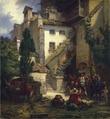 Marksmen in Merano (Johan Christoffer Boklund) - Nationalmuseum - 17942.tif