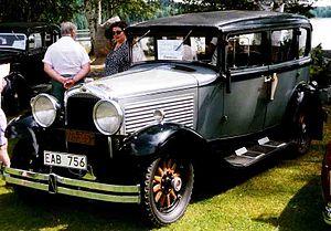 Marmon Motor Car Company - Marmon Series 8-69 4-door sedan 1929