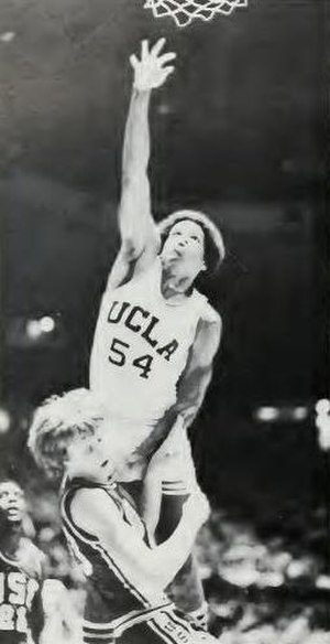 Marques Johnson - Johnson with UCLA in 1976–77