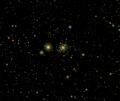 Marte-Saturno congiunzione Praesepe 15-06-2006.png