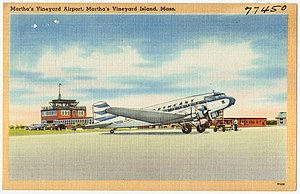 Martha's Vineyard Airport - Image: Martha's Vineyard Airport, Martha's Vineyard Island, Mass (77450)