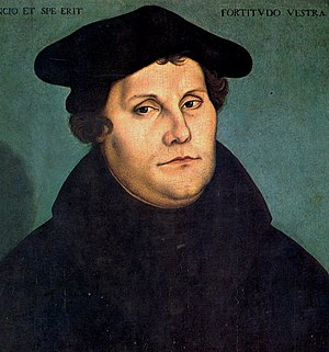 95 (number) - Luther posted his 95 Theses in October 1517 at the Castle Church of Wittenberg