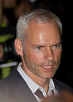 Photo of Martin McDonagh attending the premiere of the film Seven Psychopaths at the 2012 Toronto International Film Festival.