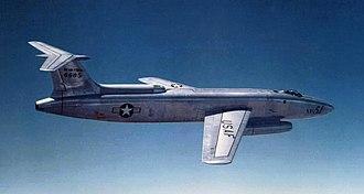 Hans Multhopp - Martin XB-51, first prototype, 46-685 during testing