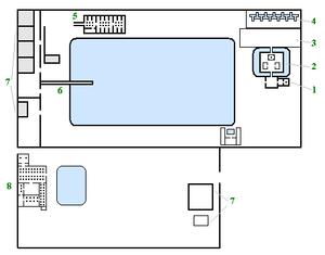 Maru-Aten - Plan of the complex