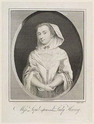 Mary Hervey - Mary Hervey, 1798 stipple engraving by James Heath