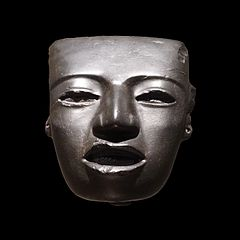 Mask Teotihuacan sculpture-70.1999.12.1