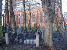 Kreuzers Grab an seinem 165.Todestag, 14.Dezember2014 (Quelle: Wikimedia)