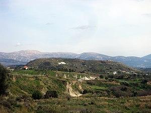 Mantzavinata - The Maspali hill during winter