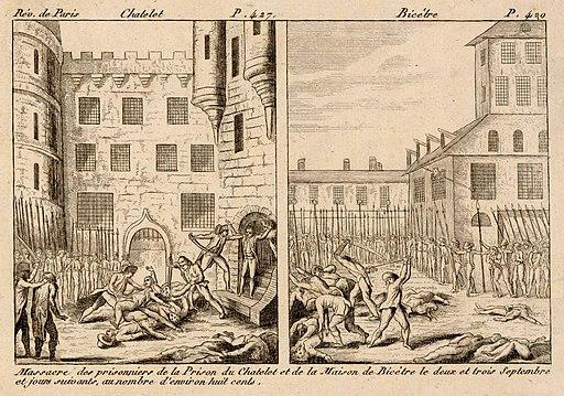 Massacre châtelet 1792