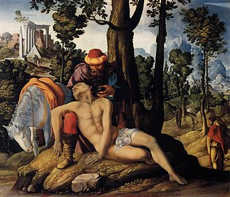 Centraal Museum - The good Samaritan, 1537
