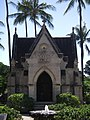 Mausoleum of King Lunalilo, on the grounds of Kawaiahao church.jpg