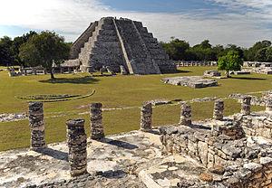 Mayapan - Temple of Kukulcan at Mayapan