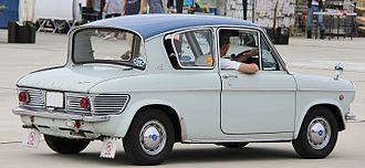 Mazda Carol - Rear view of a two-door Carol 360