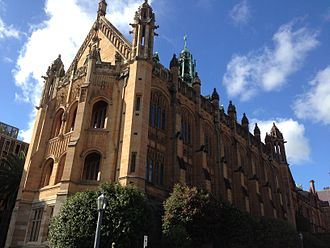University of Sydney - The MacLaurin Hall