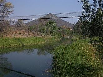 Gwanda - Mtshabezi River at Gwanda.