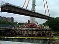 Medford I-93 93Fast14 Project, Mystic River Bridge, June 25, 2011 (5884581600).jpg